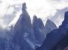Cerro Torre 3102m ü.M., Cerro Egger 2900m ü.M., Cerro Standhardt 2800m ü.M.