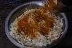 Kohl-Salat, natürlich mit einer ordentlichen Portion Curry-Pulver...