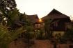 Unser Bungalow auf Stelzen für eine Nacht im Dorf Ban Kiat Ngong