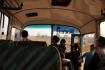 ausnahmsweise im Bus unterwegs: von Attapeu nach Paksong