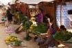 Markt in Phou Khoun - guter Ort um Proviant einzukaufen!