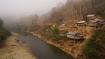 Fluss Nam Ming an der tiefsten Stelle, bevor es wieder 1000 Höhenmeter rauf geht!