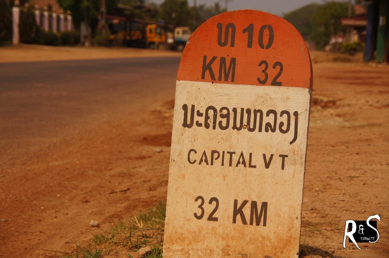 Hauptstadt Vientiane - wir sind unterwegs!