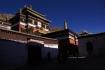 Oben ehemalige Residenz des 10. Panchen Lama