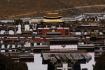 Rückblick auf das Kloster Tashilhunpo, welches uns wirklich sehr beeindruckt hat!