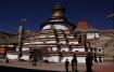Kumbum-Chörten in Gyantse, welcher vor allem durch seine tibetische, chinesische und nepalesische Architektur besticht.