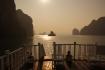 Unsere Wohlfühloase in der Halong Bucht für einen ganzen Tag, und für uns ganz allein!