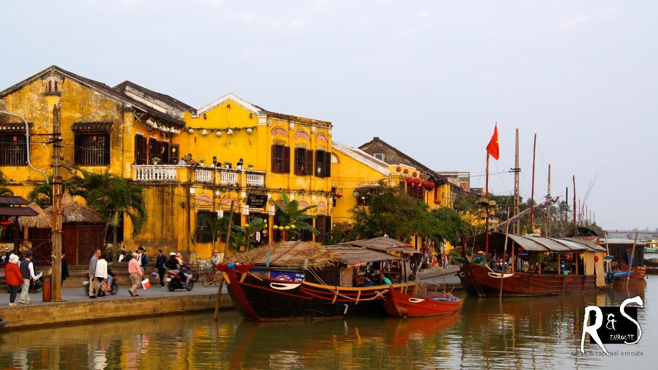 Alte Wohn- und Geschäftshäuser in Hoi An