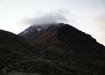 Abendlicher Blick zum morgigen Ziel - Illiniza Norte 5116m ü.M.