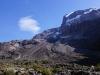 Das Barranco Valley - Sicht zum Kibo