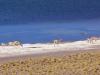 Viguñas an der Lagune entlangstreifend