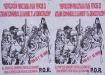 Plakate zum Aufruf der 1.Mai Demo