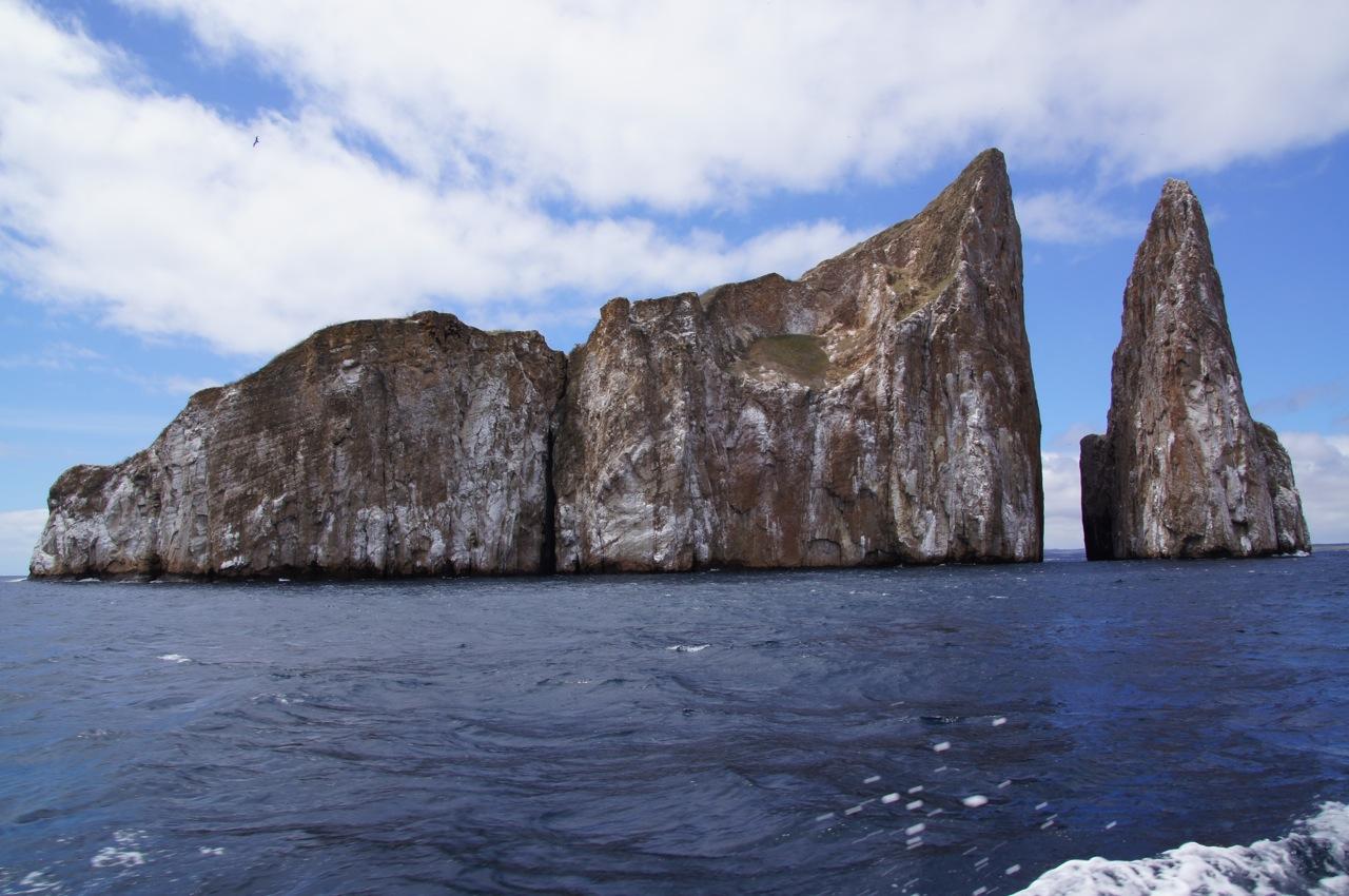 Leon Dormido - vor der Küste San Cristobals