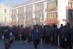 frühmorgendlicher Andrang rund um den Jokhang-Tempel