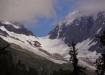 Erster Blick auf die Lötschenlücke - die Pforte zum riesigen Aletschgebiet!