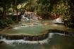 Becken unterhalb des Wasserfalls Kuang Si