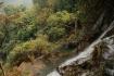 Tiefblick von zuoberst vom Wasserfall