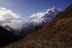Kyonggma Kharka - links Tal des Budhi Gandaki