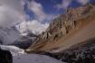 Rückblick auf den Fukang-Gletscher