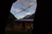 überwältigender erster Ausblick aus dem Zelt - Pangbuche Himal