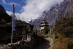 mystische Stimmung über dem Dorf Sho auf fast 3000m...