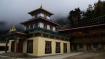 Nyingmapa Monastry oberhalb von Lho