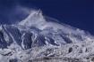 unglaublich: Wenn man den Manaslu besteigen wollte, ginge es von hier (Samagaon 3500m ü.M.) nochmals gut 4600m in die Höhe