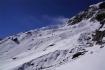 steiler und rutschiger Aufstieg