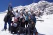 unser Team auf über 4600m - doch den optimalen Base Camp Platz haben wir wohl nicht gefunden!