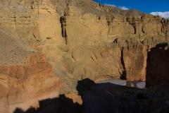 canyon of Kali Gandaki next to the village Chele