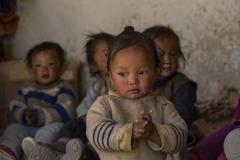 local children in a kindergarden in Choser