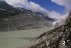 Rückblick auf Oberaargletscher, Oberaarjoch und den Oberaarsee