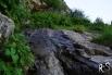 Der Schafweg zieht entlang einer Flanke nach Hinterbalm, eingangs Brunnital