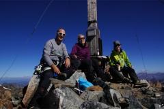 Die frisch Verlobten auf dem Silvrettahorn!