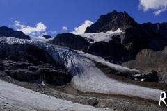 Rückblick auf den Ochsentaler Gletscher