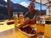 Mike geniesst bereits den Feierabend nach dem Silvrettahorn =)
