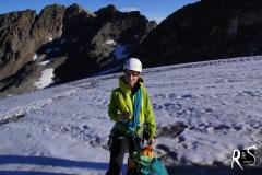Picnic auf dem Gletscher