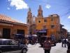 eine der ungefähr 25 Kirchen in Potosi