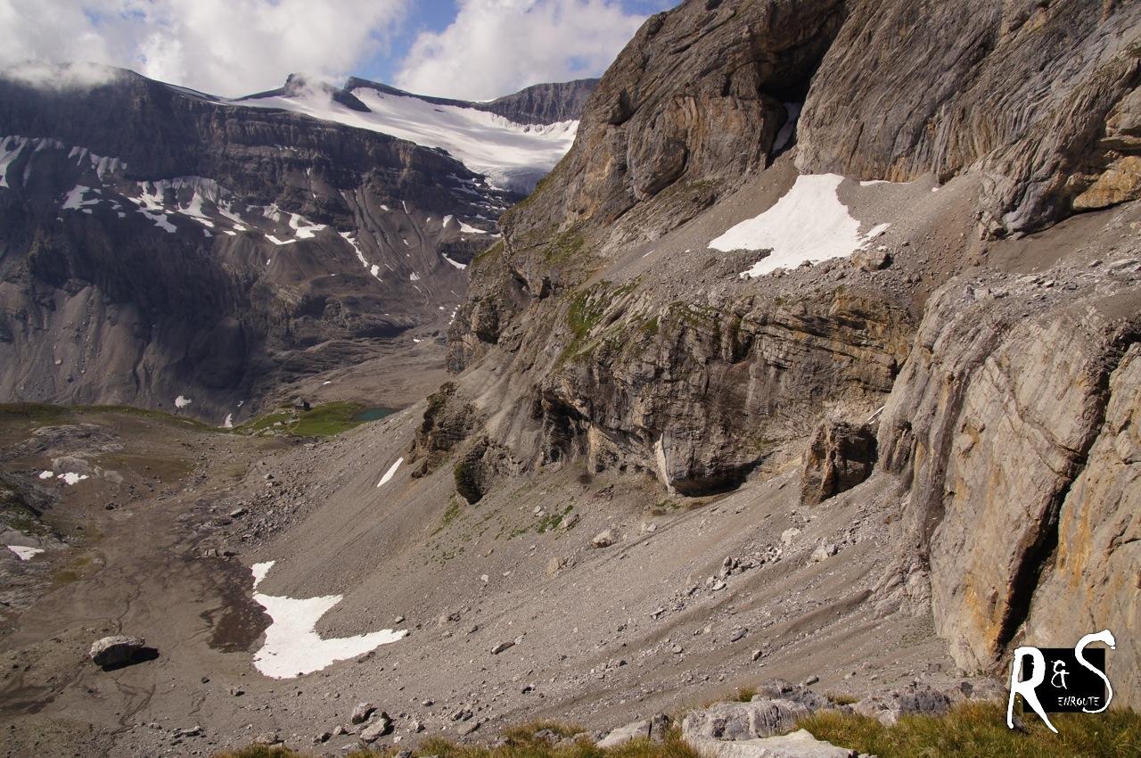 Ausblick zur Lämmerenhütte