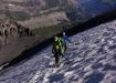steiler Gipfelfirnhang