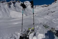 Ski-Stilleben..