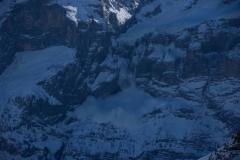 Gletscherabbruch unterhalb des Wellhorns