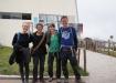 Gruppenbild bei der Bergstation des TelefériQo