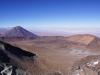 Licancabur und im Hintergrund die Atacamawüste