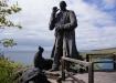Charles Darwin - allgegenwärtig auf den Galapagos