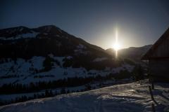 Sonnenaufgang ob Sörenberg