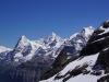 Eiger - Mönch und Jungfrau - berauschendes Pano