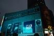 Der Stadtkern von Shanghai glänzt und leuchtet.
