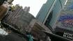Shanghai am frühen Morgen. Ein Wolkenkratzer reiht sich an den anderen.