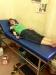 Spende eines Beutel Blutes Blutgruppe A- im Kantha Bopha Kinderspital in Siem Reap